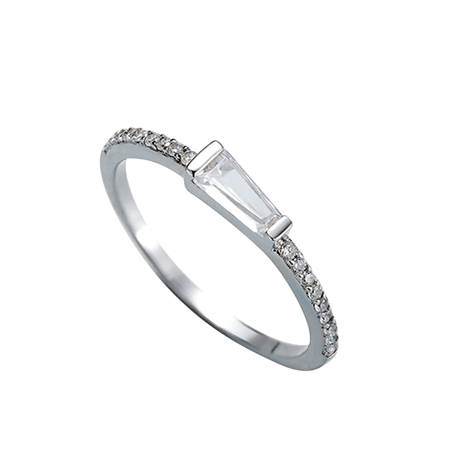 Amazon Moandy 925 Sterling Silver Open Ring Zircon Eternity Engagement Wedding Band Jewelry: Open Eternity Wedding Band At Reisefeber.org