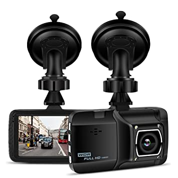 Grabadora de coche Prous, KB10 1080P FHD cámara de salpicadero 170 ° gran ángulo de