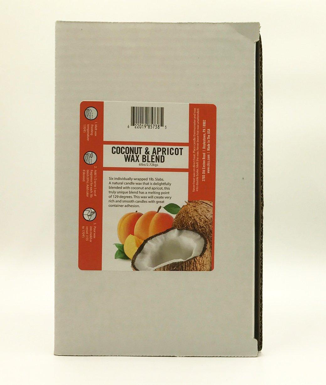 6pk Coconut Apricot Wax