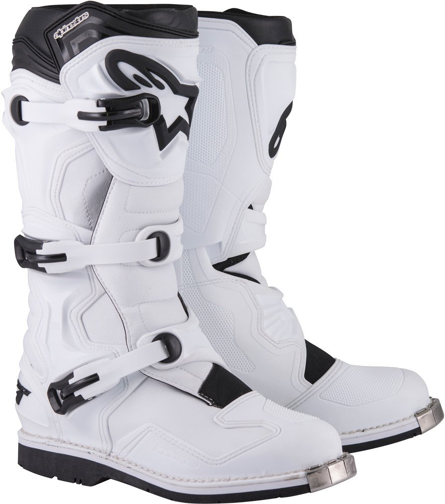 Alpinestars Tech 1 Boots-White-7