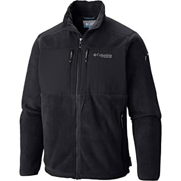 Amazon.com: Columbia Men's Black Ridge Fleece Jacket: Sports ...