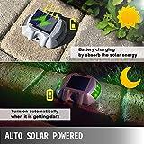 Happybuy Driveway Lights 8-Pack Solar Driveway