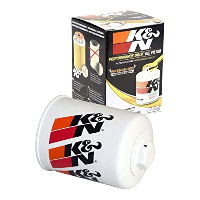K&N Premium Oil Filter: Designed to Protect your Engine: Fits Select NISSAN/MERCURY/INFINITI/SUBARU Vehicle Models (See Product Description for Full List of Compatible Vehicles), HP-2008: Automotive