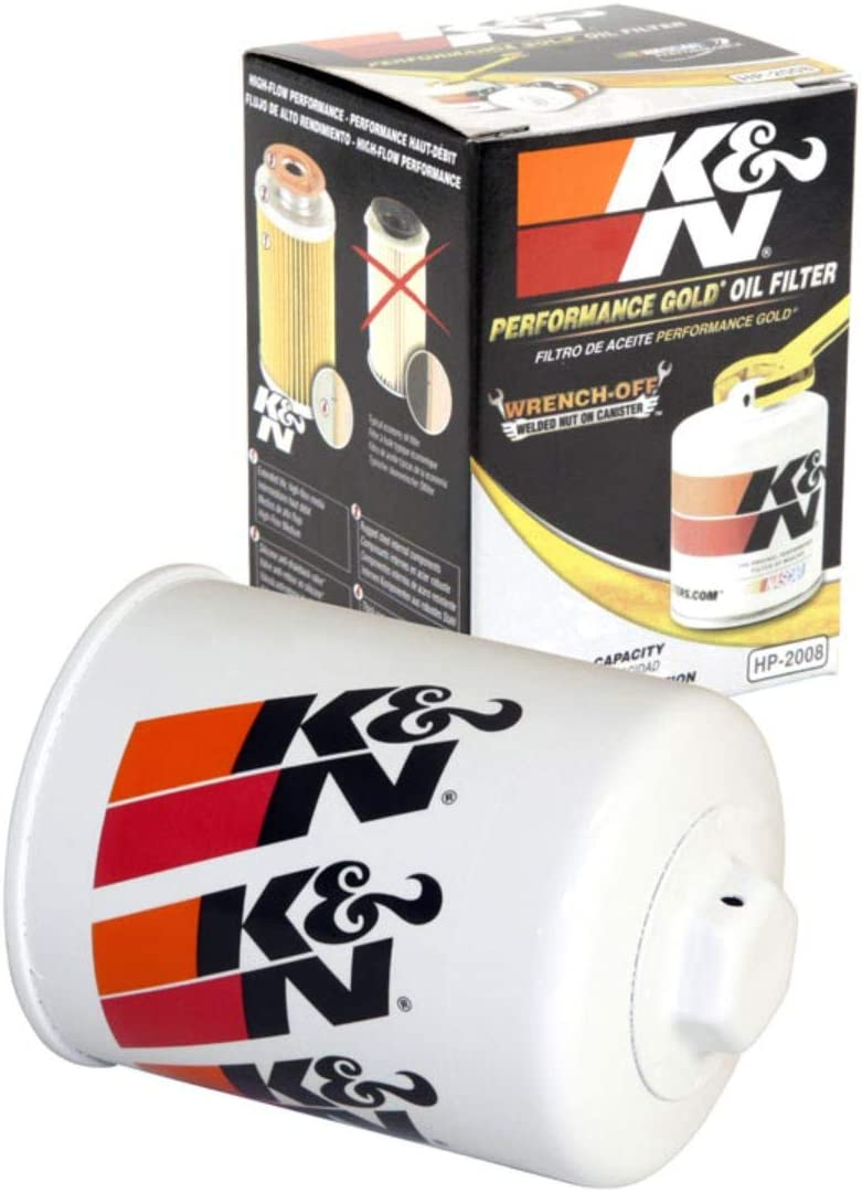 K&N Premium Oil Filter: Designed to Protect your Engine: Fits Select NISSAN/MERCURY/INFINITI/SUBARU Vehicle Models (See Product Description for Full List of Compatible Vehicles), HP-2008