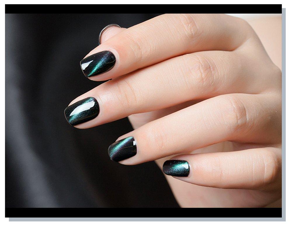 Joligel Esmalte Gel Magnético Efecto 5D Láser Multicolor Galaxia, Esmaltes Permanentes Uñas Gel Semipermanente UV LED Profesional para Manicura Nail Art, ...