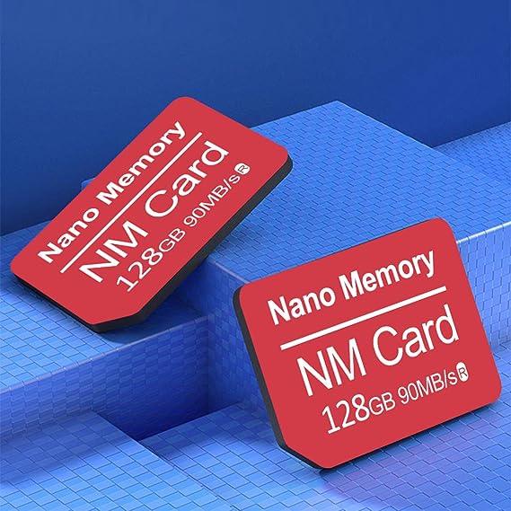 YAOMAISI NM Card 128G 90MB/S - Tarjeta de Memoria Nano ...