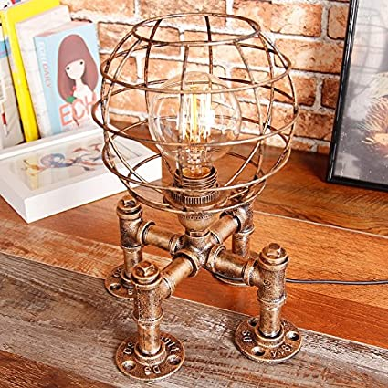 Superior Industrial Retro Table Lamps Steampunk Desk Lamp Eye Protection Lamp  Reading Lights Study Lamp Work Lamp