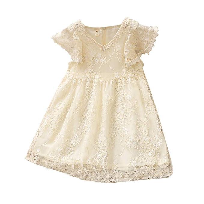Amazon.com: Falda de encaje para bebés, vestido de princesa ...