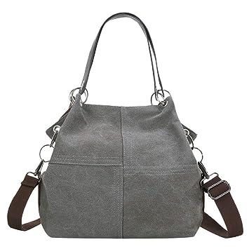 9f98ff599ba2 Amazon.com : ❤ Sunbona Retro Messenger Bag for Women Girl Outdoor ...