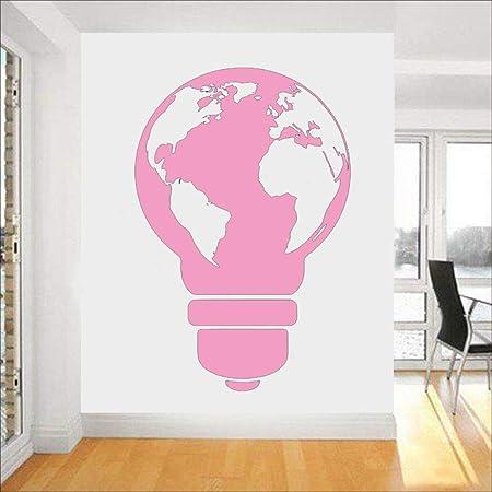 Art Vinyle Peinture Murale Affiche Pour Living Light Bulb