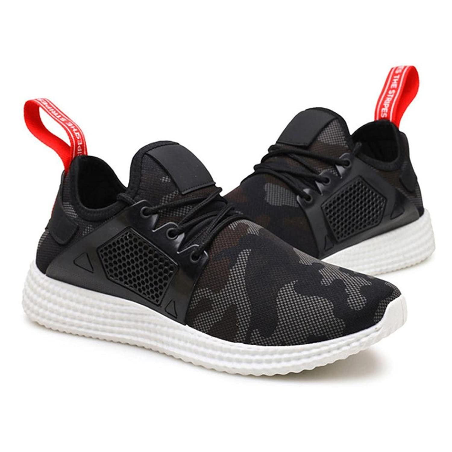 Men's Sports Shoes, Byste Lightweight Breathable Sneakers Camouflage for Running  Hiking Exercise: Amazon.co.uk: Shoes & Bags