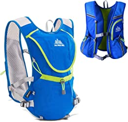 AONIJIE Hydration Pack Backpack 8L Volume Marathoner Running Race Hydration  Vest Running Hiking Backpack with Hydration 9e4cd5fbfc99