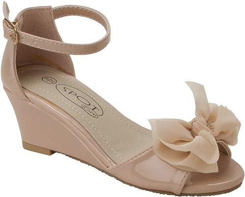 Summer Wedge Heel Sandals Shoes UK Size