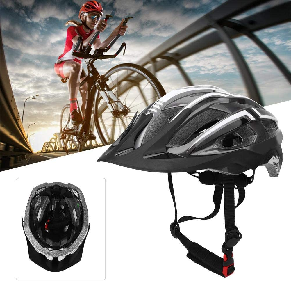 Safety Adjustable Bicycle Helmet Skating Bike Helmet Mountain Bike Helmet Cycling Equipment for Bicycle Skate Board Keen so Cycling Helmet