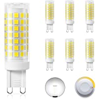 DiCUNO G9 Dimmable LED Bulbs 4W (40W Halogen Equivalent), Daylight White 5000K, 430LM, AC/DC 220V, Energy Saving Ceramic…