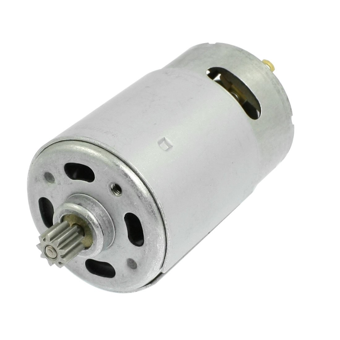 uxcell DC 18V 32000RPM 9 Teeth Shank Gear Motor for Rechargeable Electric Drill: Electric Fan Motors: Industrial & Scientific
