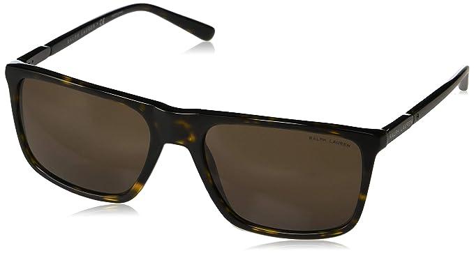Ralph Lauren 0Rl8161 Gafas de sol, Dark Havana, 58 para ...