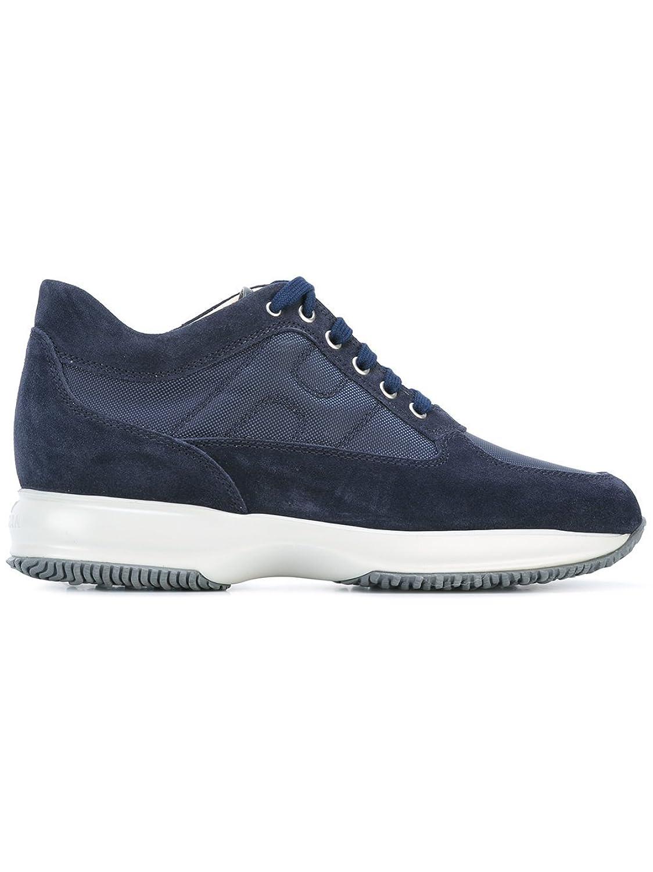 Hogan メンズ HXM00N00E1067A622E ブルー セーム 運動靴 B07DR1RP3J