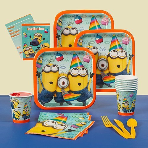 Despicable Me 2 Birthday Party Pack]()