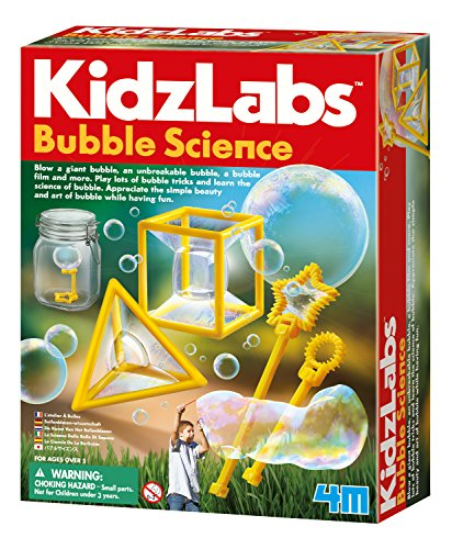 4M Bubble Science - Physics, Chemistry Lab - Educational Stem Toys Gift For Kids & Teens, Boys & Girls
