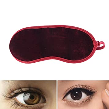 1pc Sleeping Eye Massage Reduce Wrinkle Magnet Cover Blindfold Pad Relax Oh