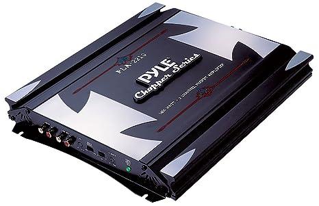 Pyle PLA2210 2.0 Coche Alámbrico Negro, Gris - Amplificador de audio (2.0 canales,