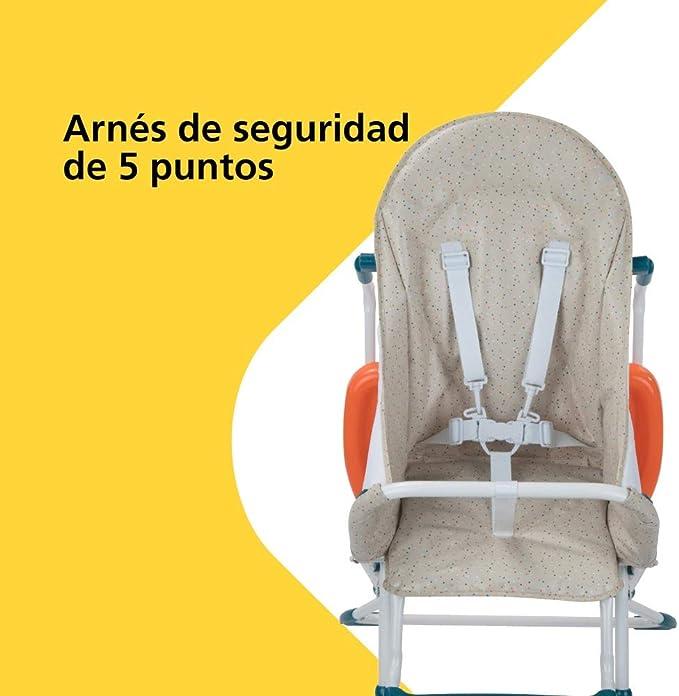color beige y naranja Safety 1st KANJI Happy Day Trona unissex