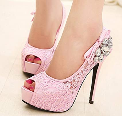 Sexy Mund Boutique Marcu Home Fisch High Heels Strass Nachtclubs Nvmy8wOn0