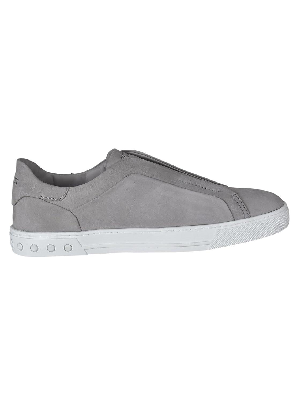 Tod's メンズ XXM0XY0T2005IPB212 グレー 革 運動靴 B07DMNCTQL