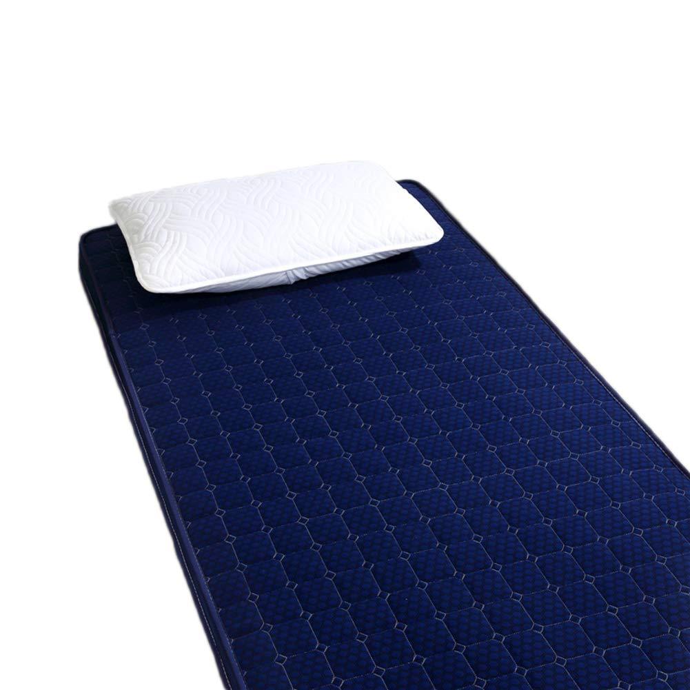 D 100x200cm H 6cm Thick Soft Memory Foam Mattress Rolled, Quilted Breathable Anti-mite Folding Mattress Ergonomic-G 180x200cm H 6cm