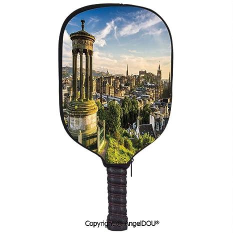 Amazon.com: AngelDOU Cityscape - Funda impermeable con ...