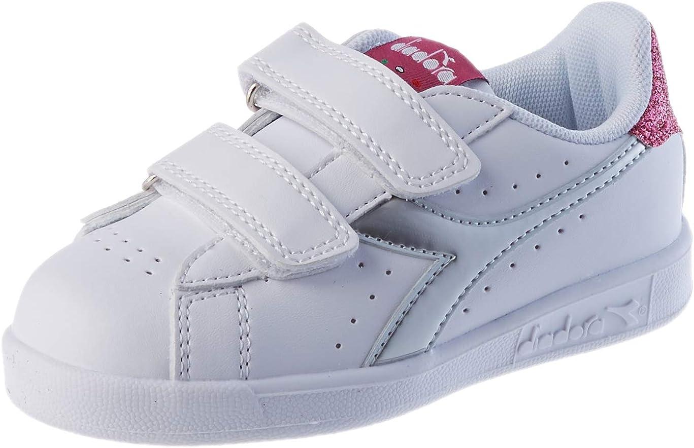 Diadora Game P TD Girl, Zapatillas de Gimnasio Niñas