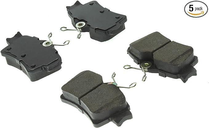 ACDelco 14D627CH Advantage Ceramic Rear Disc Brake Pad Set