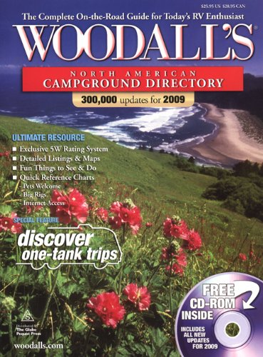 Woodall's North American Campground Directory with CD, 2009 (Good Sam RV Travel Guide & Campground Directory) (Good Sam Rv Travel Guide And Campground Directory)
