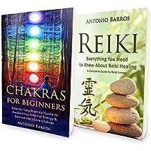 REIKI: From Beginner to Expert - Energy Healing Double Book Bundle (+Bonus!) - Ultimate Guide to Reiki Healing & Chakra Healing (Energy Healing, Chakras ... Beginners, Reiki Symbols, Chakra Balancing)