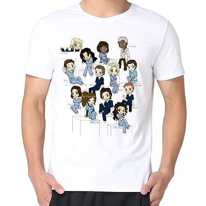 Amazon Mary Mens Cute Cartoon Funny Greys Anatomy T Shirts