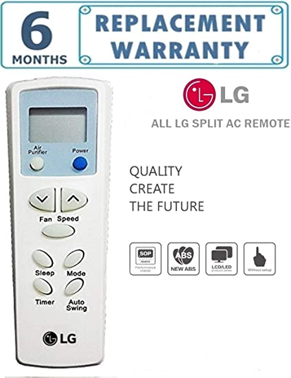 Compatible New Universal Remote Control for LG Split AC's Remote