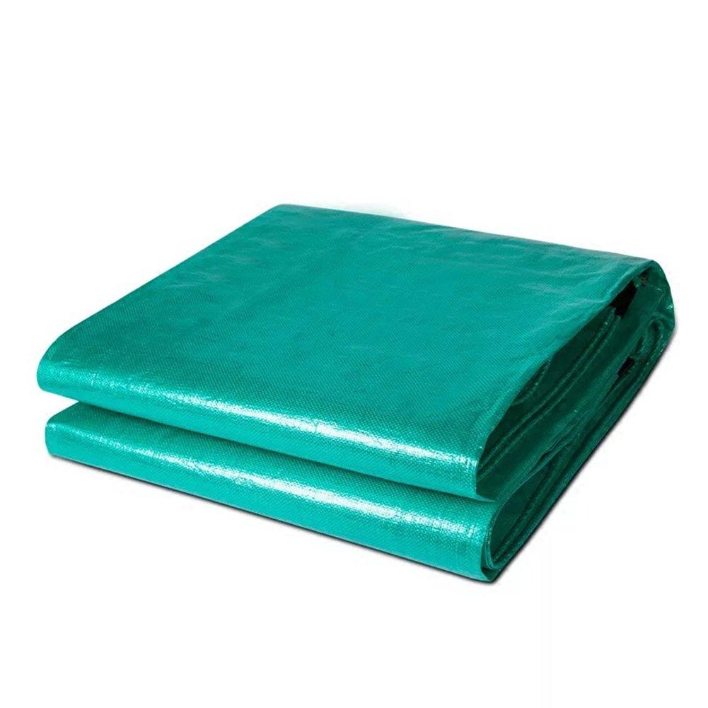 CHAOXIANG オーニング 厚い 両面 耐寒性 日焼け止め 耐寒性 耐引裂性 耐摩耗性 耐食性 防塵の ライトウィッグ PE 緑、 200g/m 2、 厚さ 0.45mm、 20サイズ (色 : 緑, サイズ さいず : 3x4m) B07DBPJG32 3x4m|緑 緑 3x4m