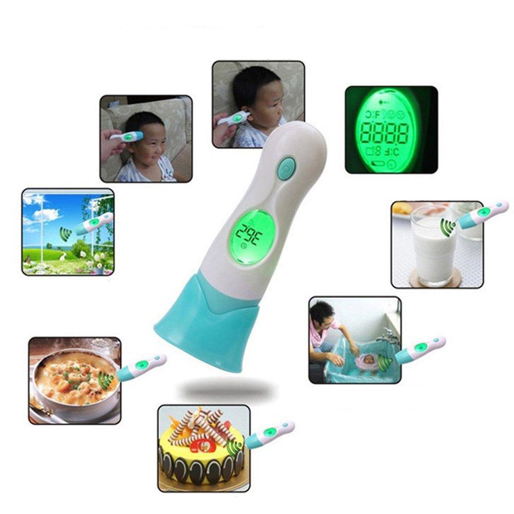 Rocita Baby Thermometer Elektronisches Stirnthermometer und Ohrthermometer