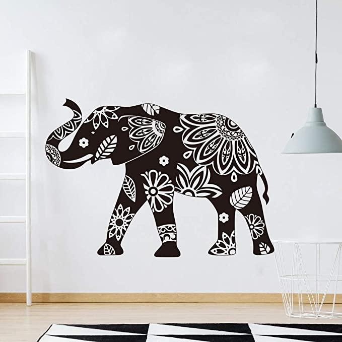 wukongsun Gran Mandala Elefante Patrón Tatuajes de Pared Enorme ...