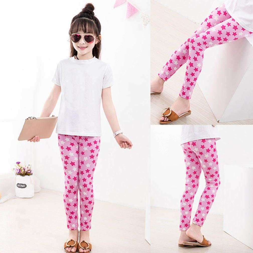Comfy Children Trousers Leggings Floral Print Toddler Kids Baby Girls Pencil Pants TLOOWY Girls Leggings