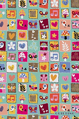 Quilting: Sewing Fabric Material Crafting Notebook Journal Diary for Men, Women, Teen & Kids