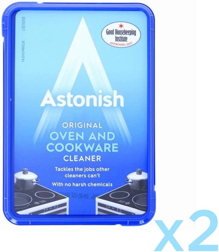 Stax 2 x Astonish Oven and Cookware Cleaner 150g.Cleaning paste for ovens, cookware, taps and tiles