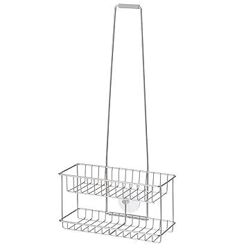 無印良品 ステンレスシャワーラック・吊下げタイプ 約幅24×奥行11×