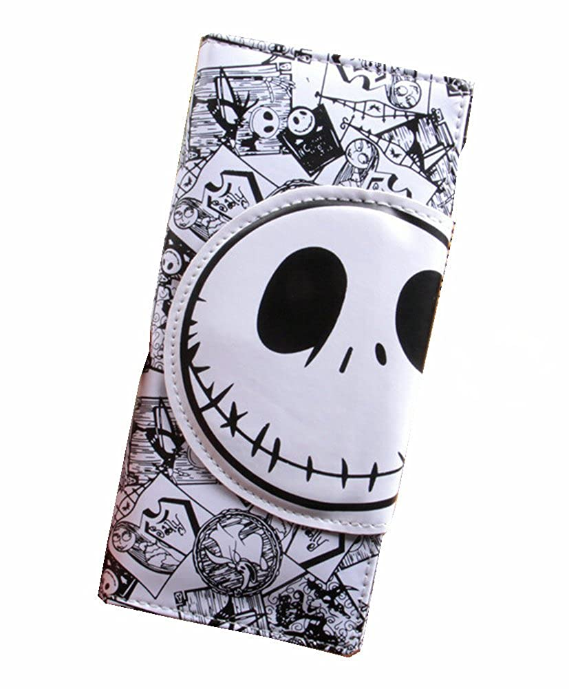 Amazon.com: Jack Skellington larga piel sintética color ...