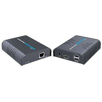 Amazon e sds 1080p hdmi kvm extender over single cat55e67 e sds 1080p hdmi kvm extender over single cat55e67 sciox Images