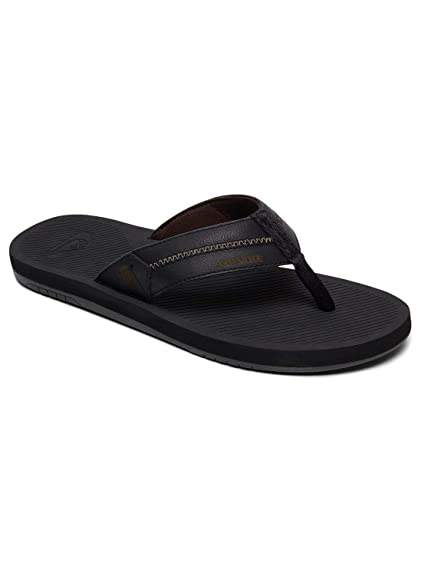 696c6efd8bfd Quiksilver Coastal Oasis Deluxe - Leather Sandals for Men AQYL100760 ...