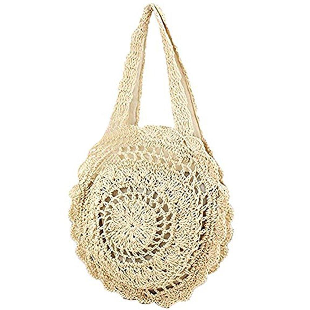 Donalworld - Bolso de asas para mujer Beige beige: Amazon.es ...