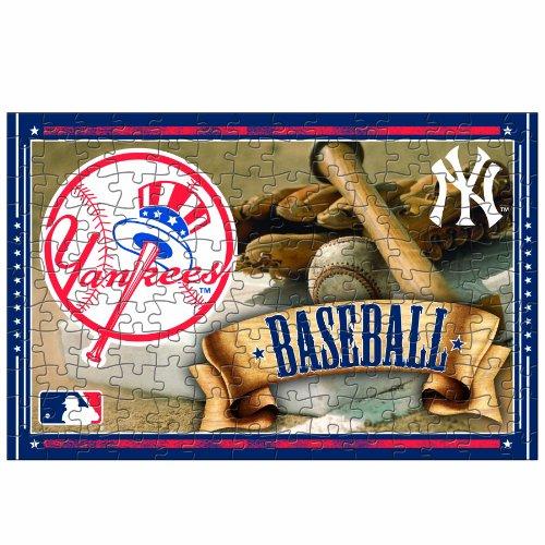 MLB New York Yankees 150-Piece Puzzle (Baseball Tin Puzzle)