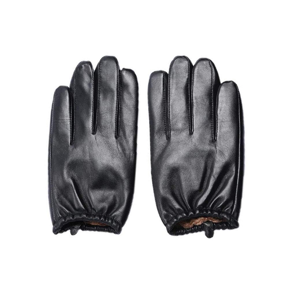 a la venta MILAYA MILAYA MILAYA JI Bin Shop Guantes Hombres Guantes De Cuero Clásicos Invierno Pantalla Táctil De Conducción Forrada  (Tamaño : XL)  venta al por mayor barato